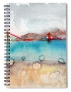 Rainy Day In San Francisco  Spiral Notebook