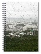 Rainy Day In Seoul Spiral Notebook