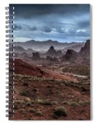 Rainy Day In The Desert Spiral Notebook