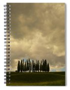 Rainy Day In Toskany Spiral Notebook
