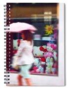 Rainy Day Kitty Spiral Notebook