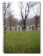 Rainy Day Mfa Spiral Notebook