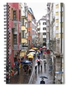 Rainy Day Shopping Spiral Notebook