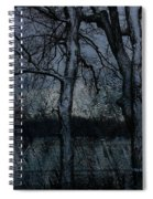 Rainy Days And Mondays- Feature-barns Big And Small-visions Of The Night-photography And Textures Spiral Notebook