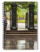 Rainy Destination Wedding In Jackson Square New Orleans Spiral Notebook