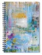 Rainy Garden Spiral Notebook