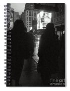 Rainy Night On Seventh - Duo Spiral Notebook