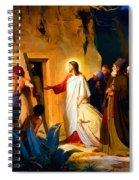 Raising Of Lazarus Spiral Notebook