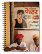 Life Of Rajasthan Spiral Notebook