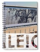 Raleigh At The Shimmer Tree Spiral Notebook