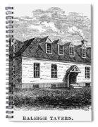 Raleigh Tavern, 1770s Spiral Notebook