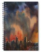 Raleigh Thunderstorm Spiral Notebook