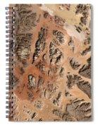 Ram Desert Transjordanian Plateau Jordan Spiral Notebook