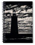 Ram Island Ledge Light Spiral Notebook