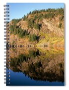 Rampart Ridge In Rachael Lake Spiral Notebook