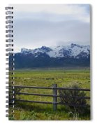 Ranch Beneath The Rubies Spiral Notebook