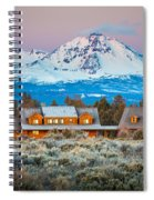 Ranch House And Sisters Spiral Notebook