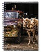 Ranch Transportation Spiral Notebook