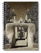 Ranchos Gate On Rice Paper Spiral Notebook
