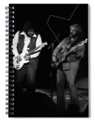Randy And C.f. Rockin Out In Spokane In 1976 Spiral Notebook