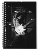 Randy Hansen Playing For Jimi 1978 Spiral Notebook