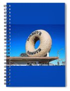 Randy's Donuts Spiral Notebook