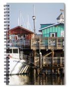 Randys Whale Watching And Fishing Trips Spiral Notebook