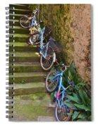 Range Of Bikes Spiral Notebook