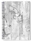 Ranger Up - Bw Spiral Notebook