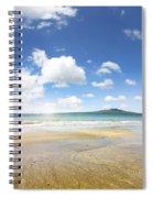 Rangitoto Island Spiral Notebook