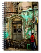 Rangoon's Colonial Remains Spiral Notebook