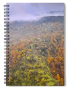 Raniy Days In Automn Spiral Notebook