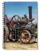 Ransomes Steam Engine Spiral Notebook