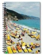 Rapallo Beach Spiral Notebook
