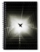 Raptor Spiral Notebook