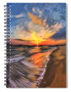 Rare California Sunset Spiral Notebook