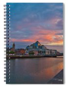 Rare Irish Sunset Spiral Notebook