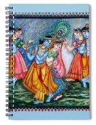 Ras Leela Spiral Notebook