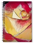 Rasberries And Cream Painterly Spiral Notebook