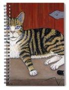 Rascal The Cat Spiral Notebook
