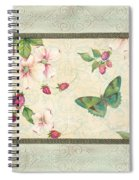 Raspberry Bliss Spiral Notebook