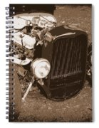 Rat Rod Spiral Notebook