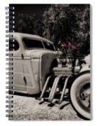 Rat Rod Spiral Notebook