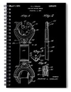 Ratchet Wrench Patent Spiral Notebook