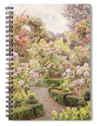 Raundscliffe - Everywhere Are Roses Spiral Notebook
