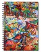 Rava Explicated Spiral Notebook