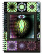 Ravaged Visions Redux Spiral Notebook