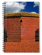 Ravelin Magazine At Fort Mchenry Spiral Notebook