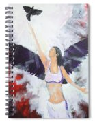 Raven Freed Spiral Notebook