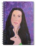 Raven Hair Spiral Notebook